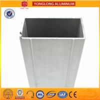 6063 Aluminum Extrusion Window Frame Profile Resistance To Dirty Manufactures