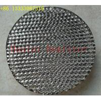 China Perforated Corrugated Plate For Air Separation Mellapak structured tower media on sale