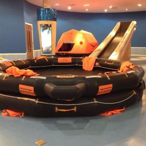China Marine Open Life raft rigid type inflatable and life raft light HRU on sale
