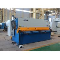 4mm 4000mm Hydraulic Shearing Machine With Schneider Electrical Components Manufactures