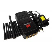 5.8 G High Power Mobile Phone Jammer , ABS Shell RF Frequency Jammer Up To 20m Manufactures