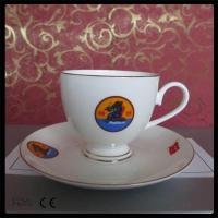 China 2015 new gift box luxury bone china coffee cup and saucer set on sale