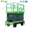 500Kg Loading Capacity Hydraulic Lift Platform 12m Height Mobile Scissor Elevating Lift for sale