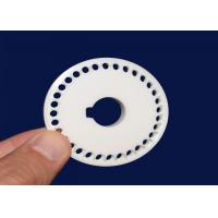 China Machinable Ceramic Disc Capacitor , Ceramic Disc Valve Components High Hardness on sale