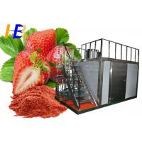Stainless Steel Food Pulverizer Machine For Strawberry Powder 10 - 700 Mesh Size Manufactures