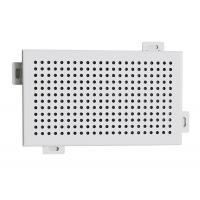 Decorative Perforated Aluminum Wall Panels DIA 4 mm Punch Holes Manufactures