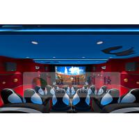 Special Effects 6D Cinema Equipment With Blue And Red Design Manufactures