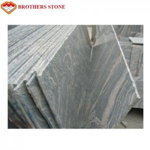 Polished Juparana Granite Glazed Wall Tile Building Material Wear Resistant Manufactures