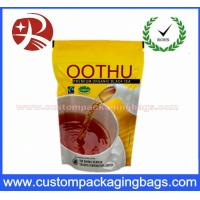 Aluminum Foil Heavy Duty Zip Lock Bags Tea Packaging 60-130 Microns Thickness Manufactures