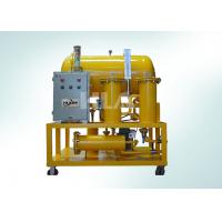 PLC Touch Screen Fuel Oil Purification System IP65 Long Life Time Manufactures