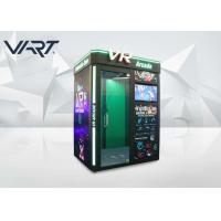 English Version Single Player VR Arcade Machines / Virtual Reality Simulator Manufactures