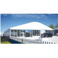 UV Protection Transparent Wedding Marquee Tent Rot Proof With Wood Flooring Manufactures