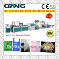 Buy cheap ONL-A 700-800 Taiwan non woven shopping bag making machine price from wholesalers