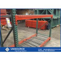 Standard Teardrop Pallet Rack Shelving Corrosion Protection For Ourdoors Manufactures