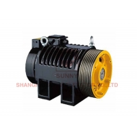 China Load 630~1000kg PM Gearless Traction Machine Suitable For Passenger Elevator on sale