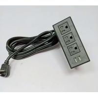 China Multimedia Conference Table Socket Pop - Up Multi - Function Cable Box on sale