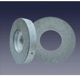 China Easy Grinding Action Ceramic Bond Grinding Wheel , Flat Grinding Wheel Longer Tool Life on sale