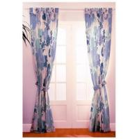 135 GSM Living Room Decorative Panel Curtains For Sliding Glass Doors Manufactures