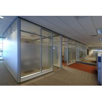 Modern Office Space Partitions / Building Aluminium Frame Free Standing Office Partitions Manufactures