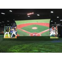 Quality Waterproof Outdoor Fixed LED Display For Football Field 4.81mm Pixel Pitch for sale