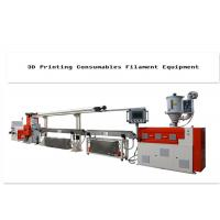 Plastic 3d Printer Filament Extrusion Line With Single-Screw 380V Manufactures