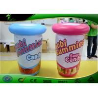 Blue Inflatable Cans Inflatable Advertising Balloons Pink Inflatable Bottle Manufactures