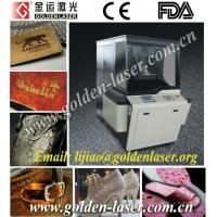 China Natural Leather Laser Engraving Machine Price on sale