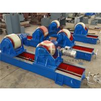 20T Lead Screw Adjusting Pipe Welding Rotator for Boiler / Pipe Automatic Welding Manufactures