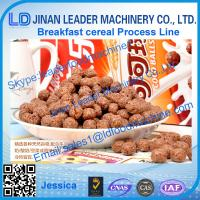 China high wholesale corn flakes cereal making machine on sale