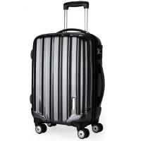 China Hard PC ABS Trolley Luggage 4 Wheeled SuitcasesWith Coded Lock BV Verify on sale