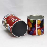Lovely Red Paper Composite Cans with Aluminium Foil for Candy Packaging Manufactures