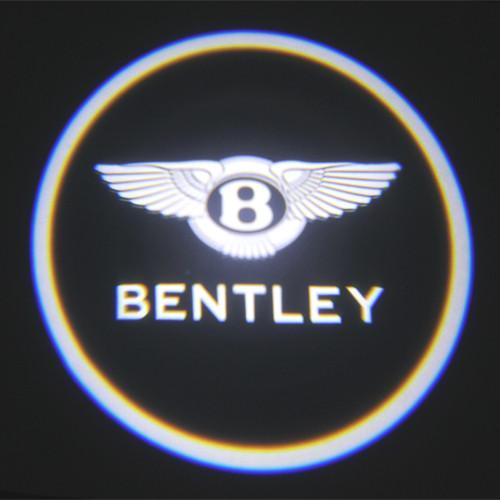 Luxury Car Door Logo Light Bentley Emblem 3W Car Led Door
