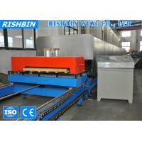 Quality Metal Surface Glass Wool & PU Sandwich Panel Machine with Non - stop Cutting for sale