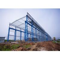 Portal Frame Prefabricated Steel Structure Warehouse Fabrication Engineer Design Manufactures