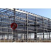 morden light weight painted prefab steel structure  workshop shed Manufactures