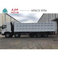 China A7 14 Wheeler HOWO Dump Truck Euro IV Engine With Higher Ground Clearance on sale
