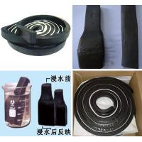 High Expansion Ratio Black Bentonite Waterstop Bar For Concrete Joint Manufactures