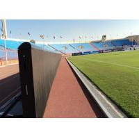 China Electronic Outdoor LED Billboard Football Perimeter LED Screen Programmable on sale