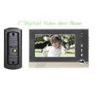 Ultra-thin 7''  LCD  Color Video Doorphone/7'' Color wired video door phones with white LED light Manufactures
