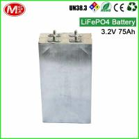 China Lithium Ion Phosphate Battery For Solar Energy / LiFePO4 Prismatic Pouch Cell on sale