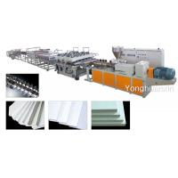 PVC crust foam board machine Manufactures