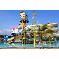 1 Year Warranty Aqua Playground Children / Adults Aqua Water Park With Water Slide Manufactures