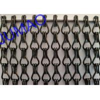China Fly Screen Decorative Metal Curtains Ventilation With Different Colors on sale
