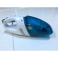 Quality DC12V ABS 60W Blue Portable Car Vacuum Cleaner Ultra Fine Air Filter for sale