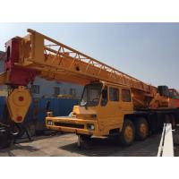 5 Section Boom Crane , Used 50t Crane , Located in shanghai Crane Yard Manufactures