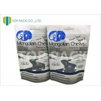 Gravure Printed custom Plain Stand Up Pouches Aluminum Foil Inside White Kraft Paper Manufactures