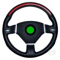 High Precision Injection Molded Parts Steering Wheels With PVC / Leather Manufactures