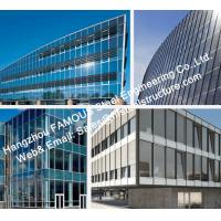 Double GlazedInsulation And Laminater Glass Facade Curtain Wall Unitized And Stick Built System Manufactures
