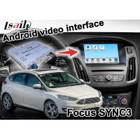 Ford Focus SYNC 3 Car Navigation Box Simple Gps Navigation with wireless carplay android auto Manufactures