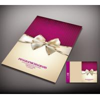 Buy cheap full color printing invitation card, wedding card printing, printing good from wholesalers